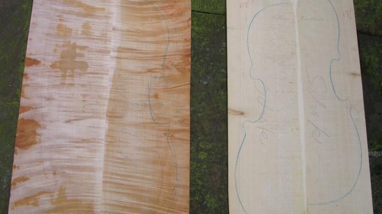 Holz für Cello Montagnana
